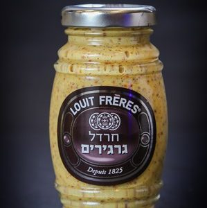 חרדל גרגירים | LOUIT FRERES
