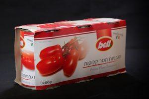 עגבניות תמר קלופות