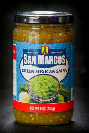 רוטב סלסה מקסיקני ירוק אמפקדורה סאן מרקוס 230 גרם