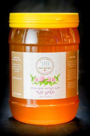 דבש טבעי מפרחי תלתן בר | משק מור