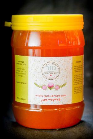 דבש טבעי מפרחי דרדרים | משק מור
